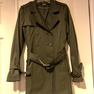NWOT - DKNY Double-breasted Trent Coat